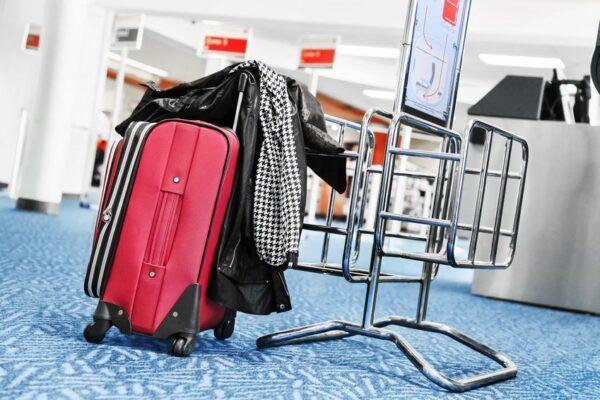 Bestimmungen beim Boardgepäck