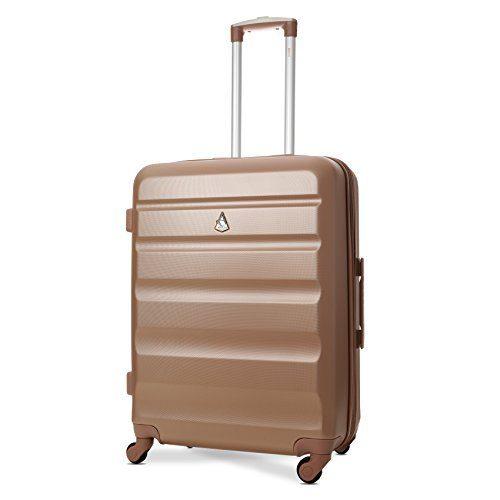 aerolite leichtgewicht abs hartschale 4 rollen trolley. Black Bedroom Furniture Sets. Home Design Ideas